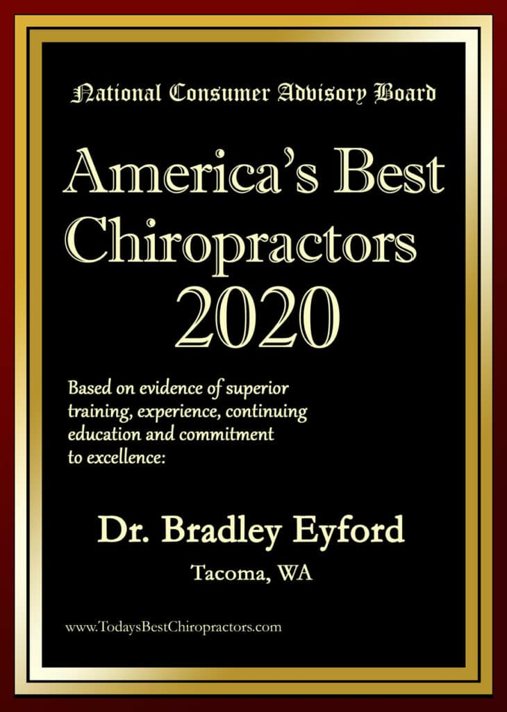 America's best chiropractor 2020 The Health Connection
