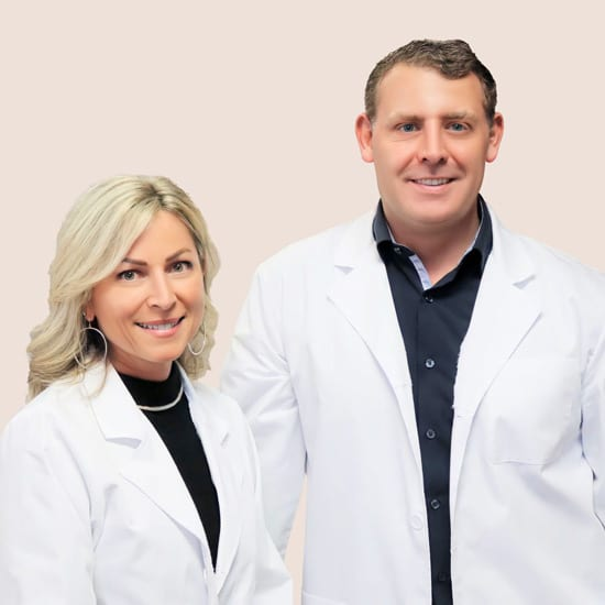 Dr. Bradley Eyford DC and Dr. Dena Marie Terranova, leading chiropractors in Tacoma, WA